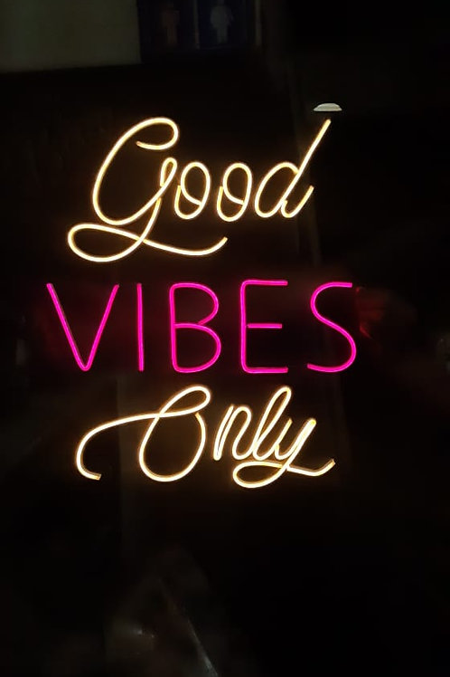 Good Vibes Only ArteLeds