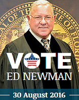 Vote for Judge Ed Neman on 30 August 2016