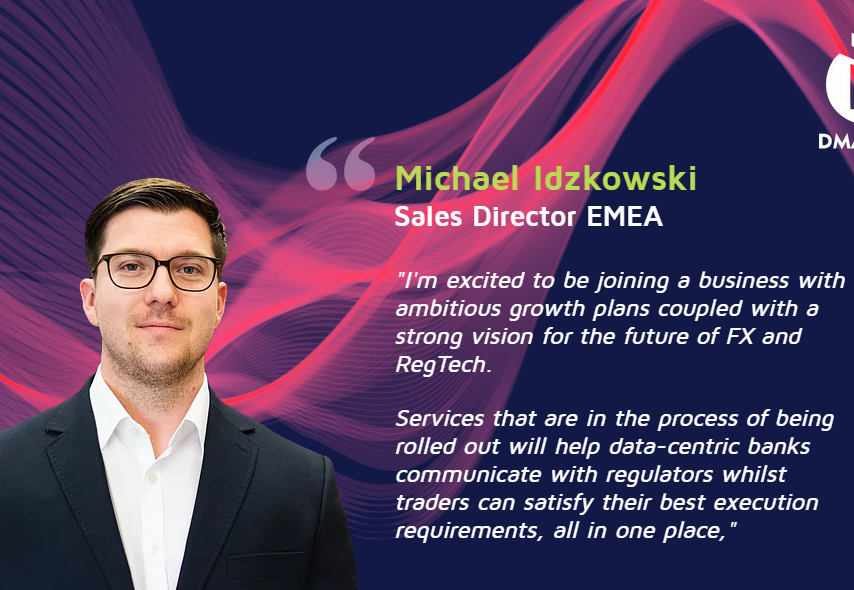 DMALINK ® Appoints Michael Idzkowski as Sales Director EMEA