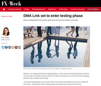 DMALINK set to enter testing phase