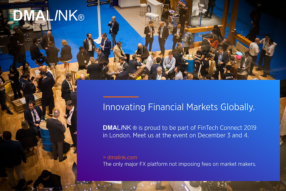 DMALINK FinTech Connect 2019 London