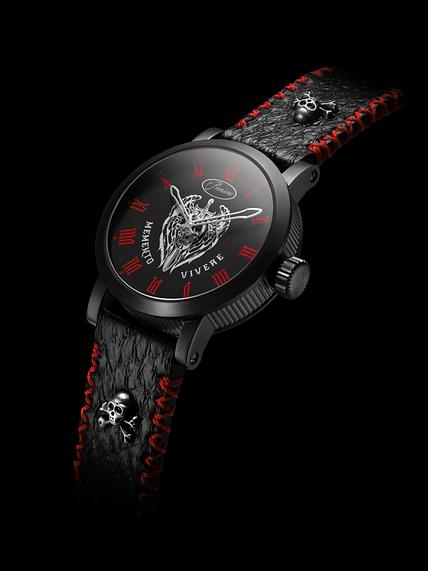 Premiers Swiss Luxury Watch Black DLC Case