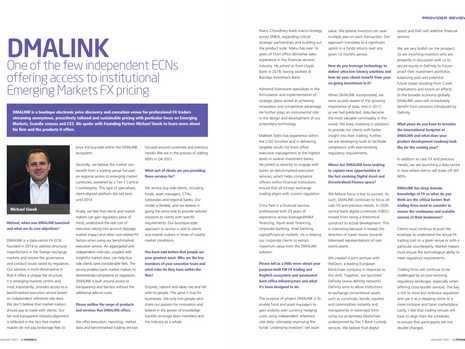 DMALINK Fintech Profile e-Forex Magazine