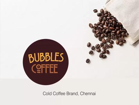 Client: Bubbles Coffee,Chennai - Logo Design | Packaging | Branding