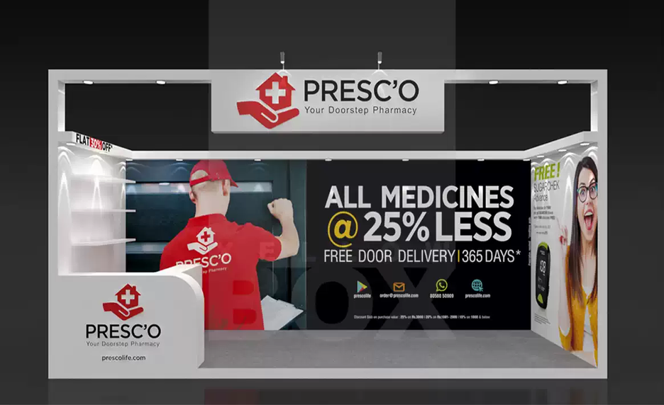 Client: Presco | BackDrop Design and Flex Printing