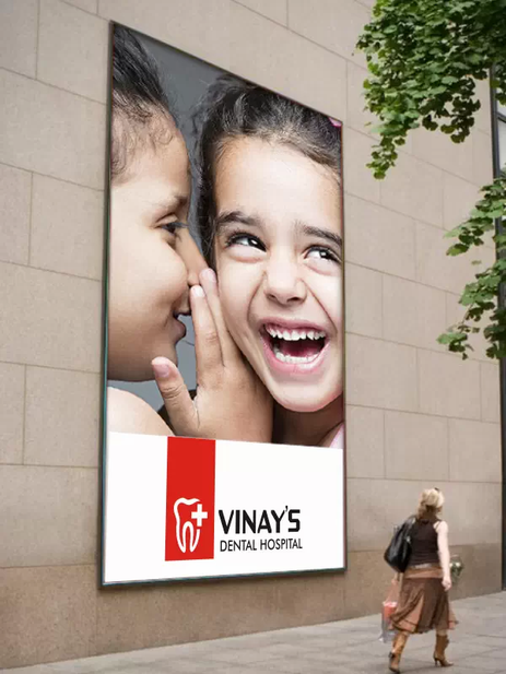 Client: Vinay's Dental Hospital, Chennai - Logo Designing | Branding