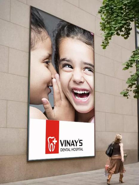Client: Vinay's Dental Hospital, Chennai - Logo Designing   Branding