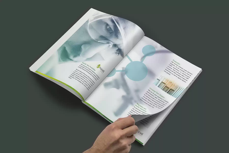 Client: Nucell | Brochure Printing