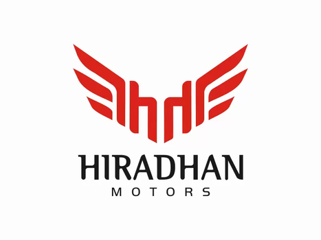 Client: Hiradhan Motors, Chennai - Logo designing   Signboard