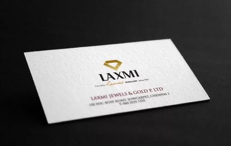 Client: Laxmi Jewellers | Stationery