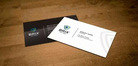 Client: Brix | Business Card