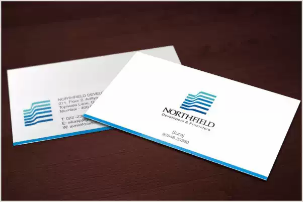 Client: North Field | Visiting card