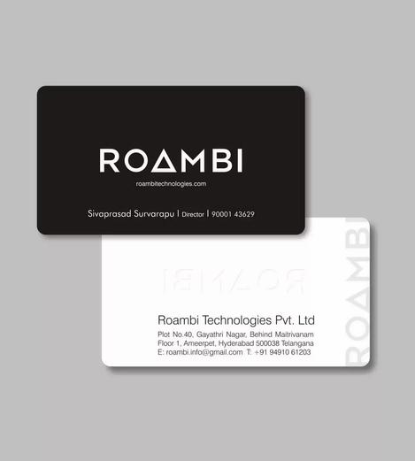 Client: RoamBi | Business Cards