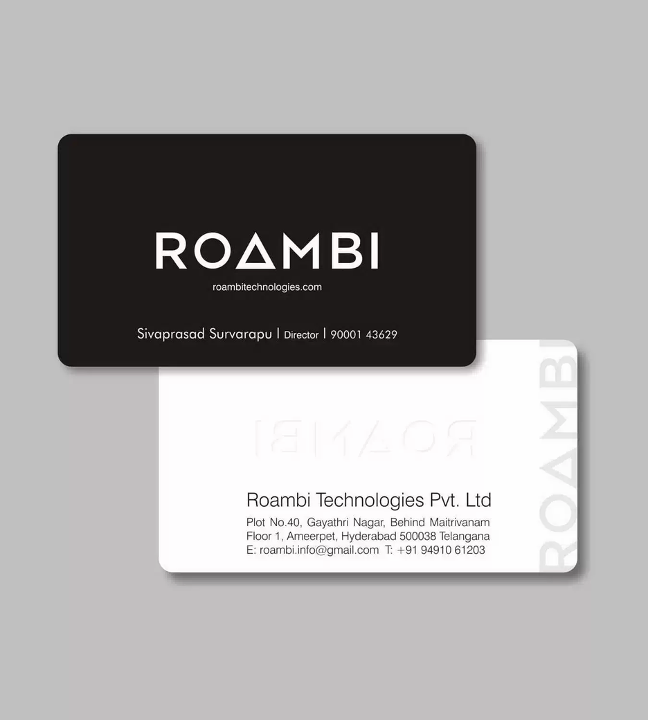 Client: RoamBi | Business Cards