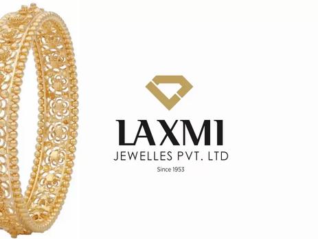 Client Laxmi Jewellers - Logo Designing | Rebranding |