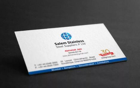 Client: SSSS | Business Card