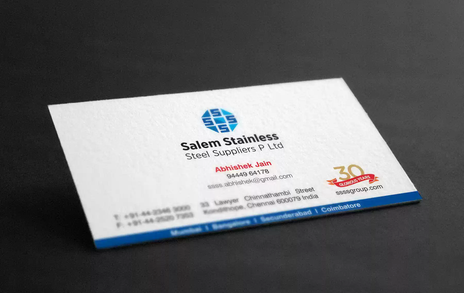 Client: SSSS | Business Card