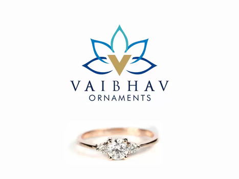 Cleint: Vaibhav Ornaments, Chennai - Logo designing   Business Card