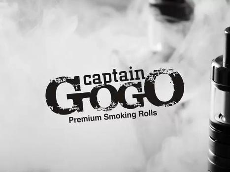 Captain GOGO, Premium Smoking Rolls, New