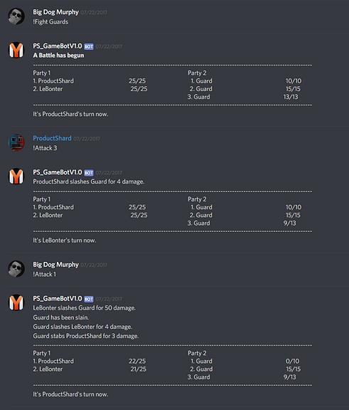 Discord Game Bot | games-eportfolio