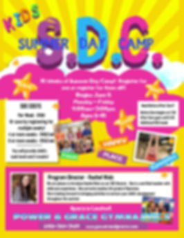 Kids Summer Day Camp Poster Flyer Templa