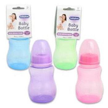 Baby Bottle,5Floz Plst 4-Asst