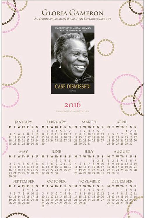 Case Dismissed! 2018 Calendar
