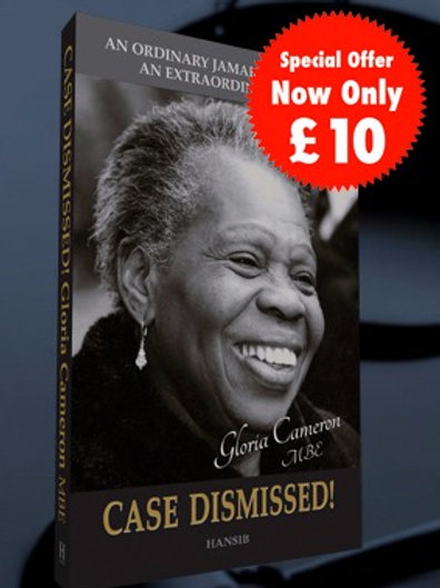Case Dismissed! Autobiography - Signed by Gloria Cameron (RRP 11.99)