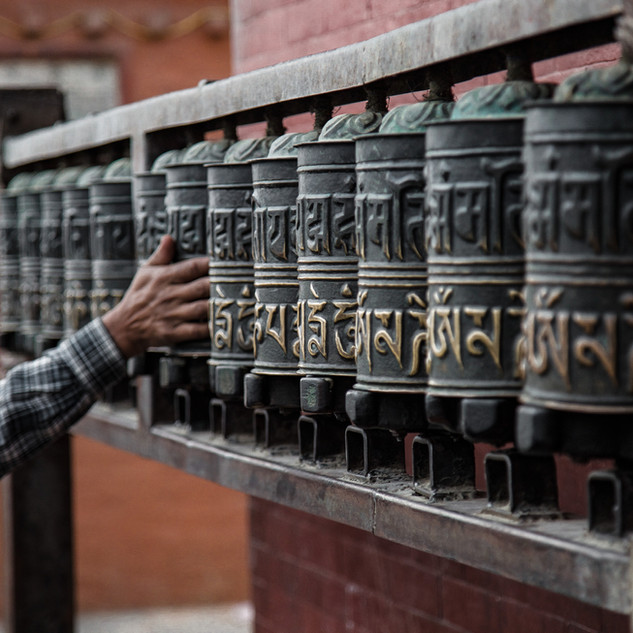 The Power of Prayer Takes Many Forms in Tibetan Buddhist Culture