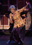 "Gerri Weagraff as ""Grandma Rosie"" in The Wedding Singer at Surflight Theatre"
