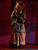 "Gerri Weagraff as Beggar Woman in ""Sweeney Todd"" at The Candlelight Theatre"