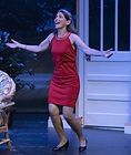 "Gerri Weagraff as ""Randa"" in The Savannah Sipping Society at Surflight Theatre"