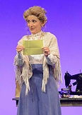 "Gerri Weagraff as Mrs. Brice in ""Funny Girl"" at Arizona Broadway Theatre"