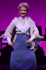 """Who Taught Her Everything?"" - Gerri Weagraff as Mrs Brice in ""Funny Girl"" at Arizona Broadway Theatre"