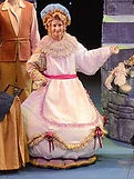 "Gerri Weagraff as Mrs. Potts in ""Disney's Beauty and the Beast"" at Arizona Broadway Theatre"