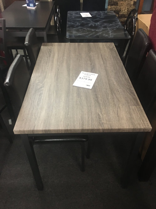 5 piece kitchen table and chair