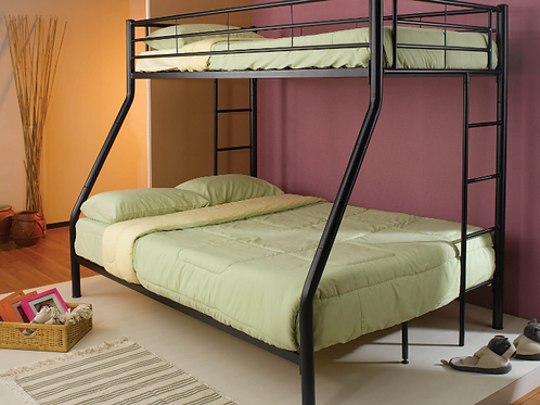 Metal Twin-Over-Full Bunk Bed