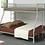 Thumbnail: Metal Twin-Over-Full Bunk Bed