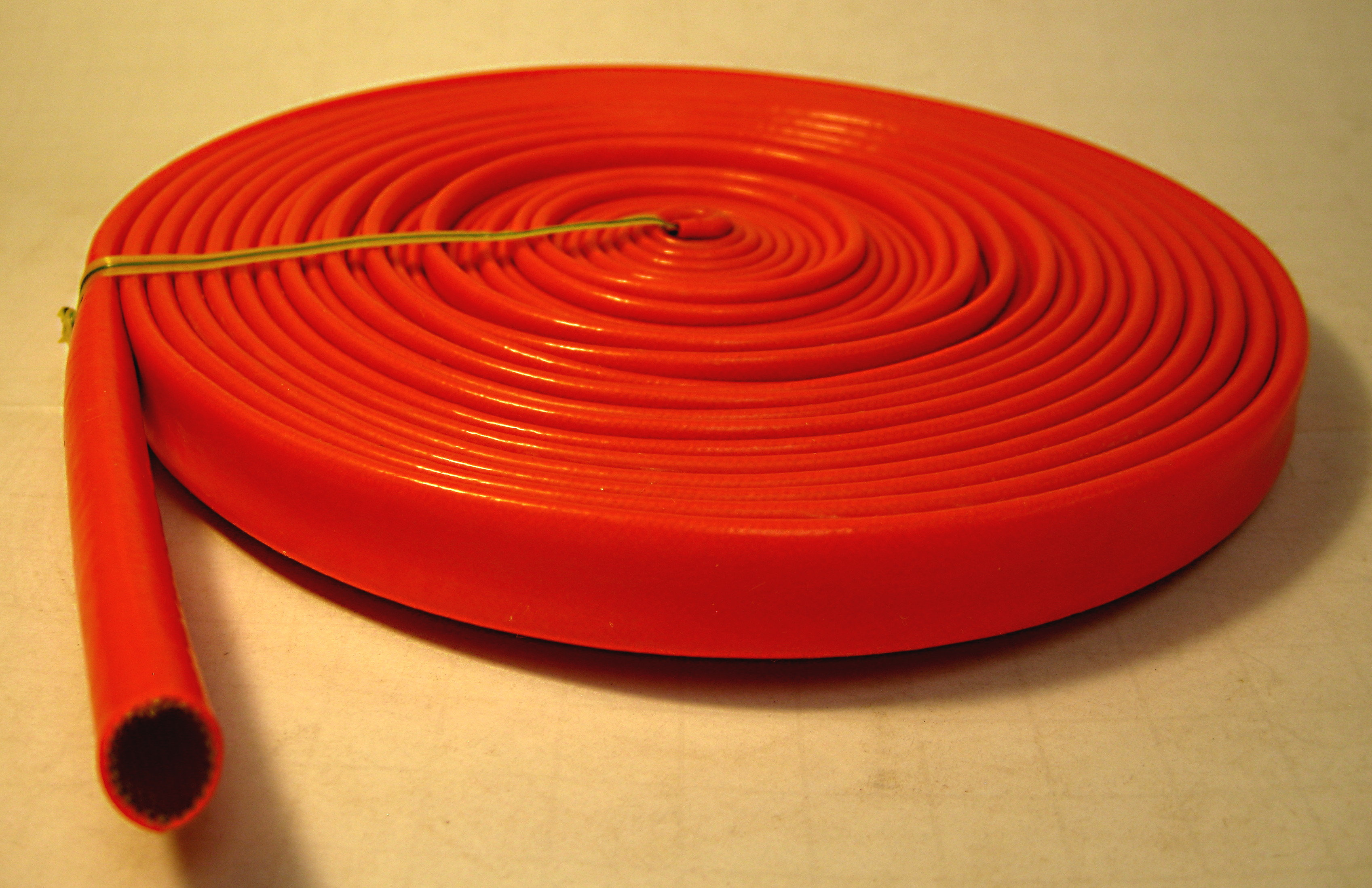 Dayglo Orange Spark Plug Silicone Sleeve - 25ft. on