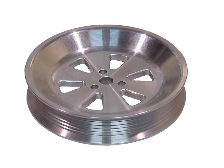 Billet SBF Aluminum Air Pump Pulley