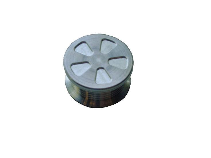Billet Aluminum Alternator Pulley - Serpentine
