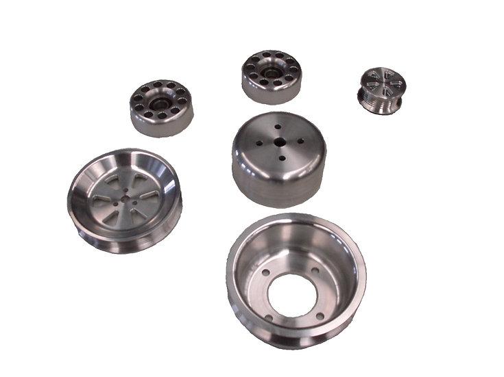 Billet Aluminum Serpentine Underdrive Kit SBF