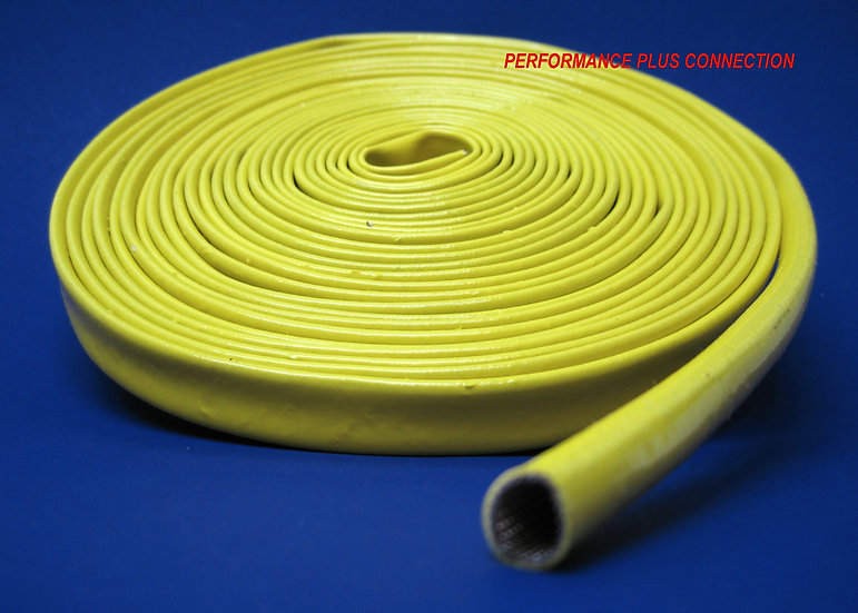 Yellow Spark Plug Silicone Sleeve - 25ft.