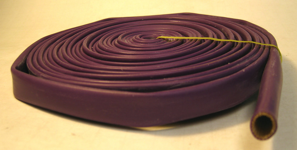 Purple Spark Plug Silicone Sleeve - 25ft.
