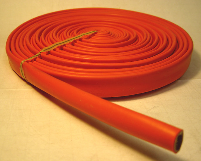 Orange Spark Plug Silicone Sleeve - 25ft.