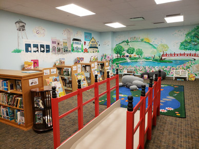 New children's area with a beautiful Hun