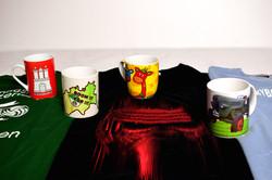Textil- und Tassendruck