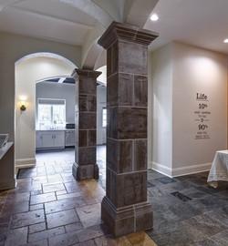 Brightmont pillars + quote