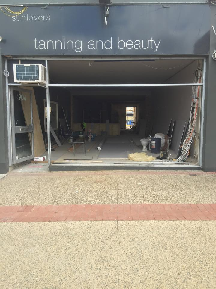 BEFORE - Shop Front