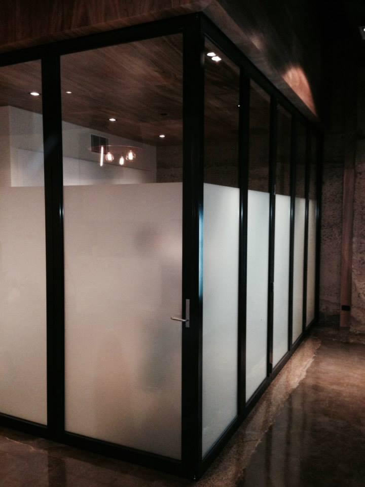 Internal corner bi fold doors